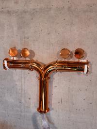 Пивная колонна V-4 медь
