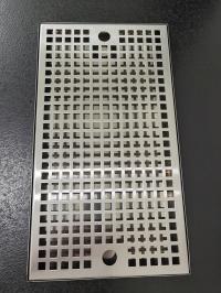 Каплесборник металлический 400х220х20