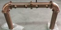 Пивной мост П-образный медь с патиной,под пегас/кран